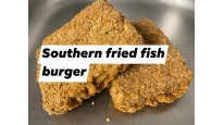 Southern Fried Fish Burger